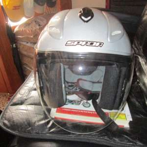 For sale: Motorcycle/scooter Crash Helmet Size Small